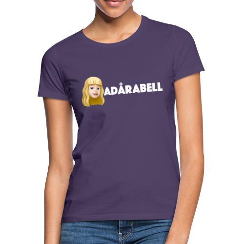 Adårabell logo - T-shirt dam
