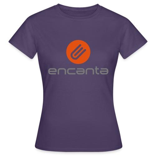 Encanta_Logo_Vector - Camiseta mujer