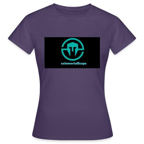 xxImmortalScope throwback - Women's T-Shirt