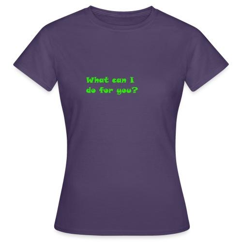 Hilfe - Frauen T-Shirt