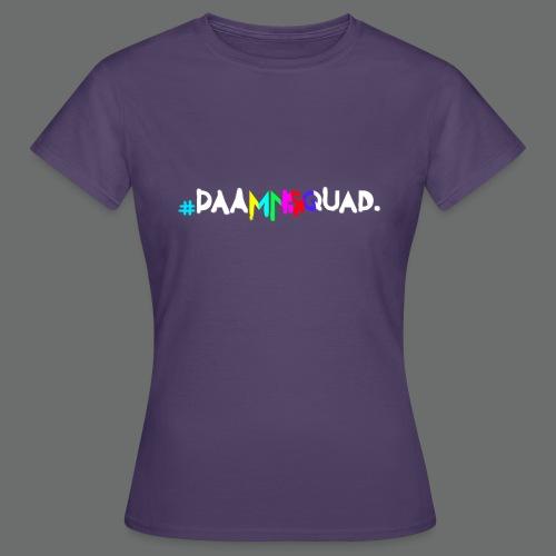 daamnsquad font - Frauen T-Shirt