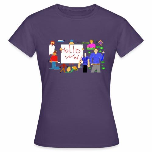 Snthetik-Gruppenbild (Neu) - Frauen T-Shirt