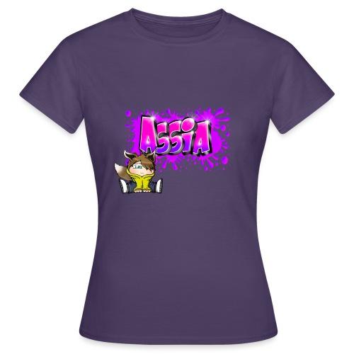 Graffiti ASSIA - T-shirt Femme