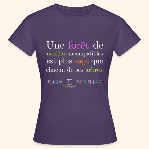 Forêt de modèles - T-shirt Femme