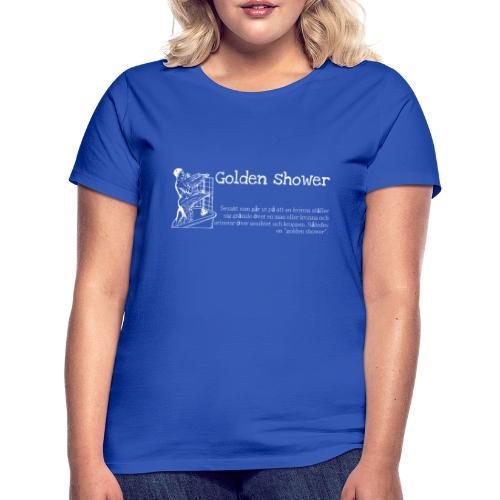 Golden shower - T-shirt dam