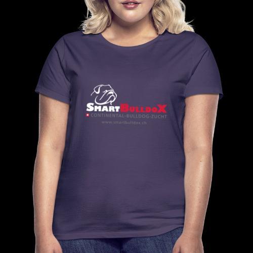 SmartBulldoX Logo Tasche www - Frauen T-Shirt