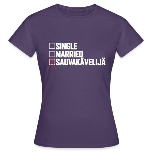 Sauvakävelijä - Naisten t-paita