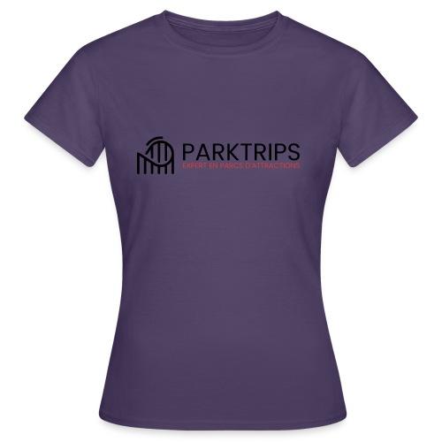 Park Trips - Logo Noir - T-shirt Femme