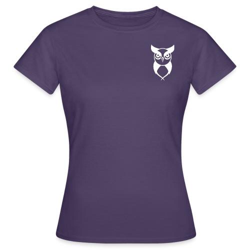 Owl logo white - Women's T-Shirt