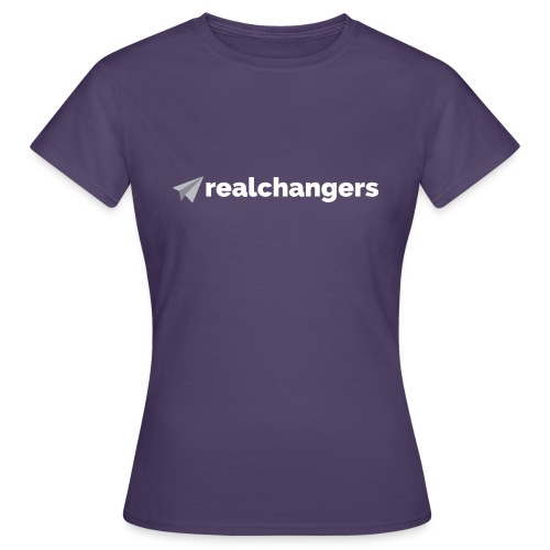realchangers - Women's T-Shirt