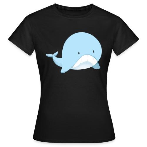 Whale - Maglietta da donna