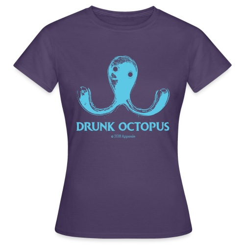 Drunk Octopus - Women's T-Shirt