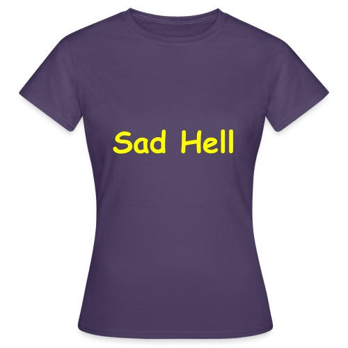Sad Sans - Women's T-Shirt