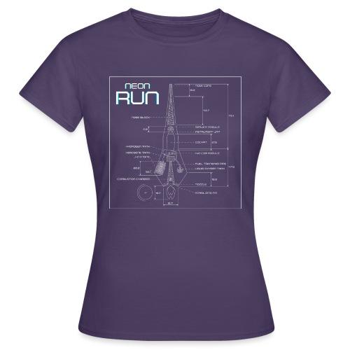 NeonRun - Vrouwen T-shirt
