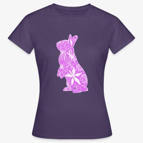 Flower Bunny IV - Naisten t-paita