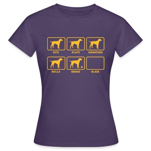 Für alle Hundebesitzer mit Humor - Frauen T-Shirt