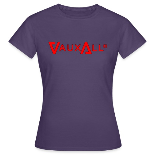 VauxAll Logo | Red | Original - Women's T-Shirt