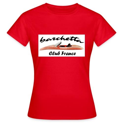 barchetta - T-shirt Femme