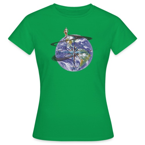 homme terre expression - T-shirt Femme