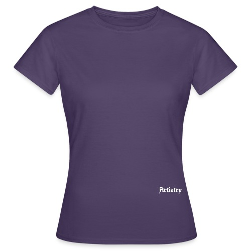 Artistry Branded White - Frauen T-Shirt