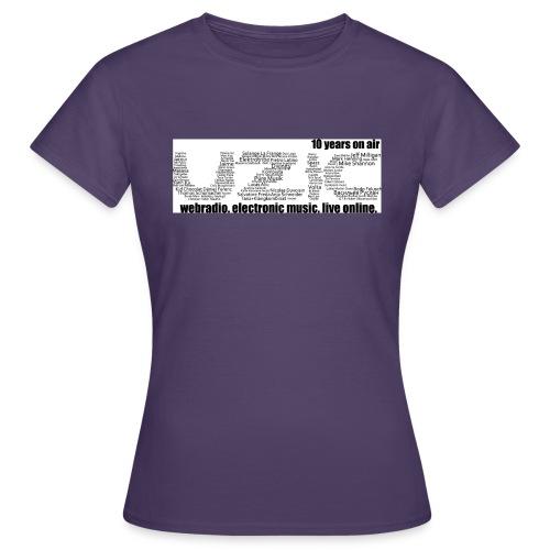 03 tshirt txt noir fond blanc - Women's T-Shirt
