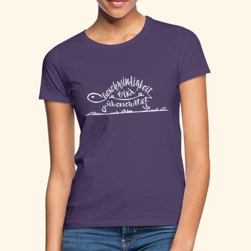 Mein Tempo - Schildkröte - Frauen T-Shirt