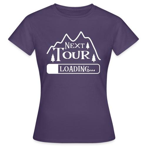 Wandern Klettern Bergsteigen Tour Laden Berg Natur - Frauen T-Shirt