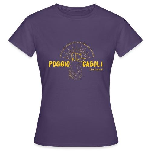 Poggio Casoli_Istituzionale_Giallo - Maglietta da donna