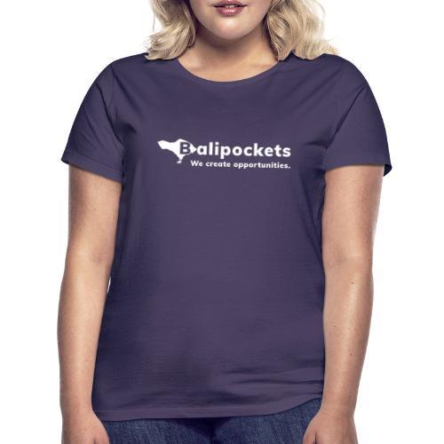 Balipockets Logo Weiß - Frauen T-Shirt