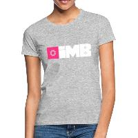 IMB Logo (plain) - Women's T-Shirt heather grey