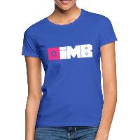 IMB Logo (plain) - Women's T-Shirt - royal blue