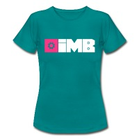 IMB Logo (plain) - Women's T-Shirt - diva blue