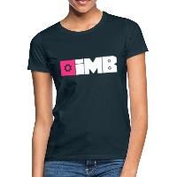 IMB Logo (plain) - Women's T-Shirt - navy