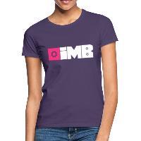 IMB Logo (plain) - Women's T-Shirt dark purple
