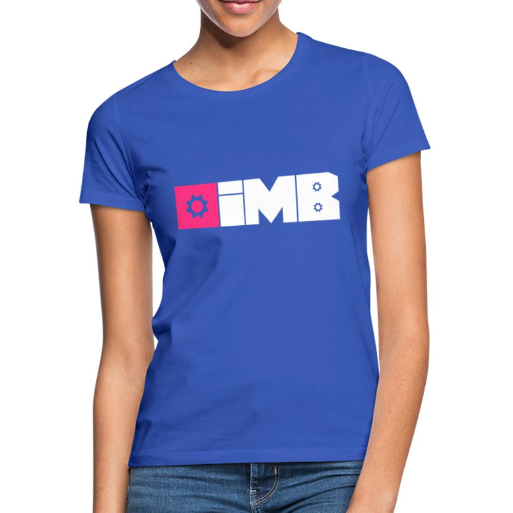 IMB Logo (plain) - Women's T-Shirt - royal blue