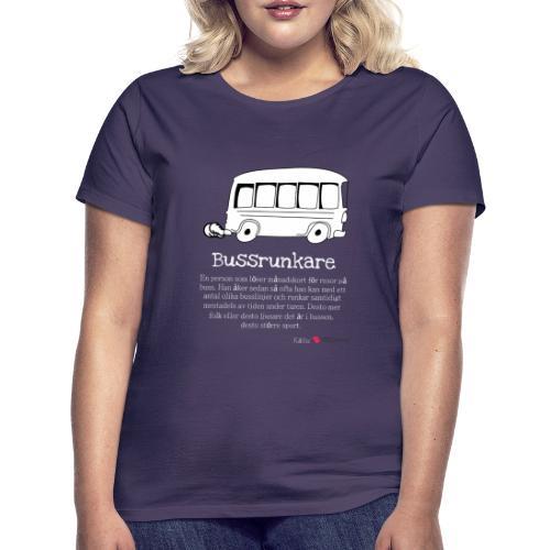 Bussrunkare - T-shirt dam