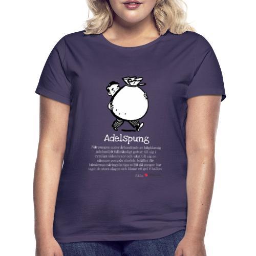 Adelspung - T-shirt dam