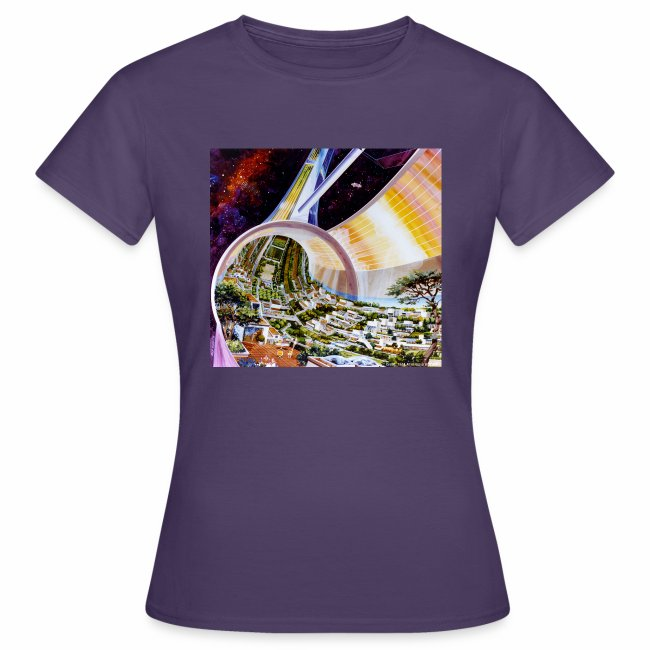 Toroidal Colonies - NASA space colony study