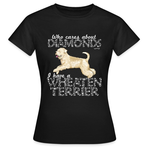 Wheaten Terrier Diamonds 4 - Women's T-Shirt