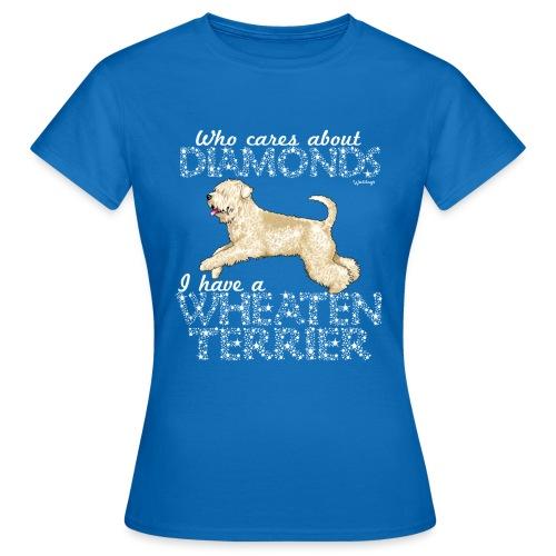 Wheaten Terrier Diamonds 4 - Women's T-Shirt