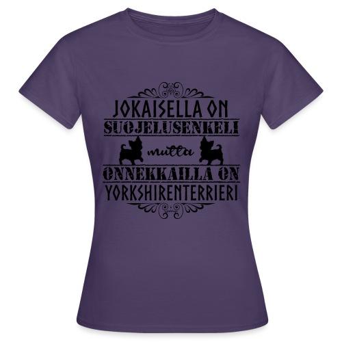 Yorkshirenterrieri Enkeli 5 - Naisten t-paita