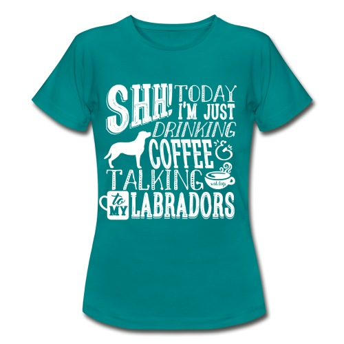 SHH Labrador Coffee 3 - Naisten t-paita