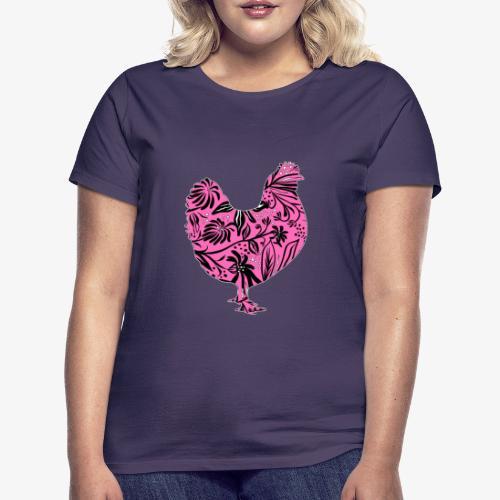 Flower Chicken IV - Naisten t-paita