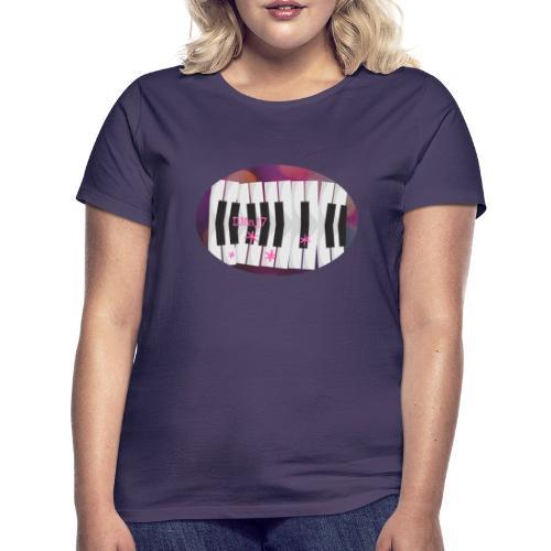 Harmonie Jazz au Piano - T-shirt Femme