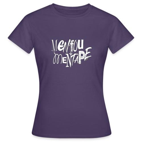 MENFOUMENTAPE blanc et noir by Alice Kara - T-shirt Femme