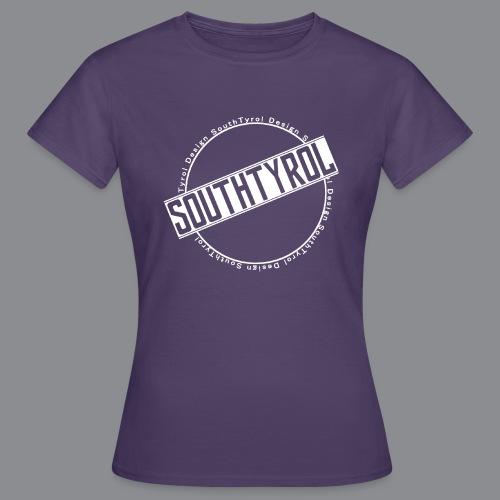 SouthTyrol Kreis weiß - Frauen T-Shirt