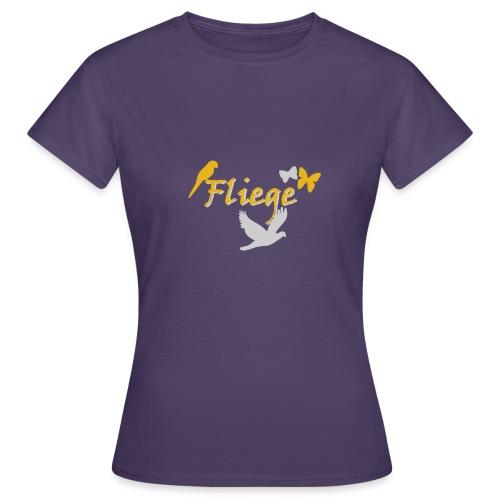 Fliegen - Frauen T-Shirt