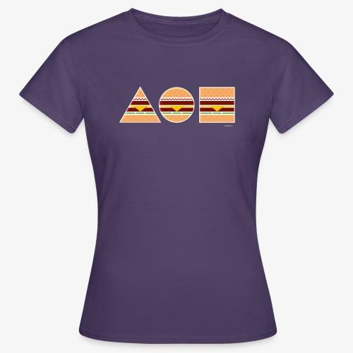 Graphic Burgers - Maglietta da donna
