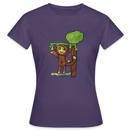 monkeywhite - Women's T-Shirt