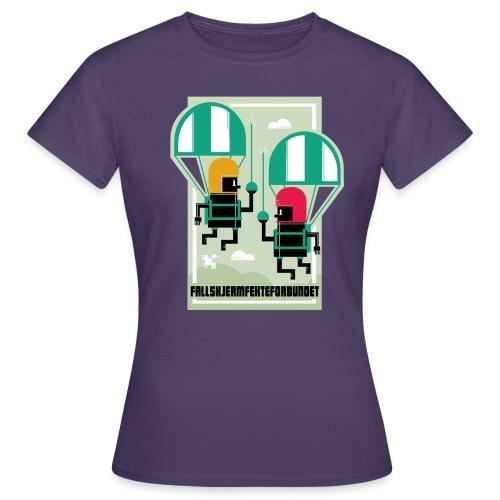 falmskjermfektingforbund - T-skjorte for kvinner
